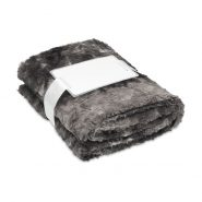 ANDERMATT Fake fur blanket