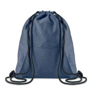 SWEATSTRING Drawstring bag with pocket